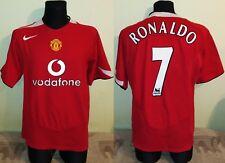 Manchester United 2004 06 Home RONALDO Football Shirt Soccer Jersey Nike XL men