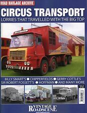 Road Haulage Archive Circus Transport Lorries That Travelled with the Big Top 12