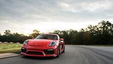"""Porsche Cayman GT4 911 GT3 RS Car Art Poster Silk Poster Print - 24x36"""""""