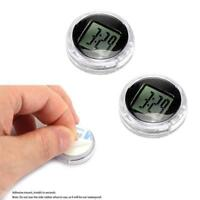 Cute Motorcycle Clock Digital Watch Handlebar Mount Motorbike IP64 Stick-On