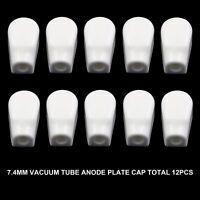 10PCS VACUUM TUBE ANODE CAP 7.4mm for 6J7 6P13P EF37 6J1 6Z18 6A7 3B24 AUDIO DIY