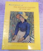Masterpieces of Bellagio Gallery Fine Art 20 Notecards Envelopes 1998 Vintage