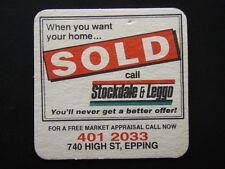 STOCKDALE & LEGGO 740 HIGH ST EPPING 4012033 COASTER
