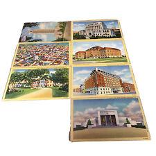 Vintage Louisiana Postcards Unposted Shreveport & Baton Rouge Good Condition