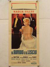 IL RUVIDO E IL LISCIO commedia regia Robert Siodmak locandina orig. 1959