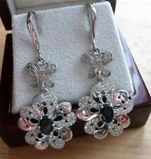 Hook Heating Natural Oval Fine Gemstone Earrings