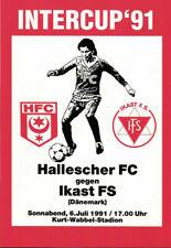 IFC 06.07.1991 Hallescher FC - Ikast FS (Dänemark), InterToto Cup