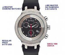 New Joe Rodeo MASTER  JJM3 Men's Swiss 2.20 CARATS Diamonds Watch