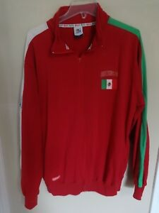 Vintage FIFA 2010 Mexican World National Team Mexico Stitched Jacket Men XL