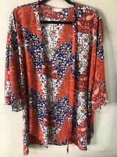 NEW— Altar'd State Paisley Kimono Bell Boho Sleeves Size M