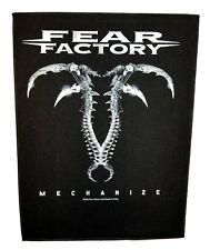 FEAR FACTORY   ( mechanize  )  OFFICIAL BACK  PATCH