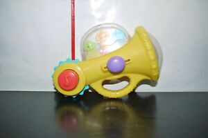 2010 PLAYSKOOL BABY TOY TRUMPET ACTIVITY SOUNDS USED