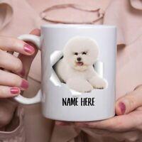 Funny Personalized Bichon Frise Custom Name Coffee Mug
