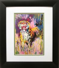 """Bengal Tiger '"" LeRoy Neiman NEW Framed Art Jungle Animal India Asia"