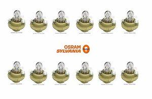 For Mercedes 500SL W140 Set of 12 OSRAM SYLVANIA 12V-1.5W Bulbs 910141 000000
