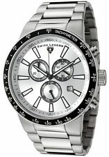 Swiss Legend 10057-22S-BB Endurance Chrono All Silver Dial/Band Stainless Steel