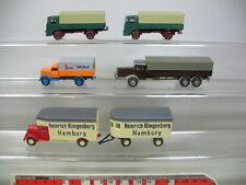 ae177-0, 5 #5x Wiking H0 Truck : MERCEDES-BENZ MB Klingenberg, Opel Beru ,