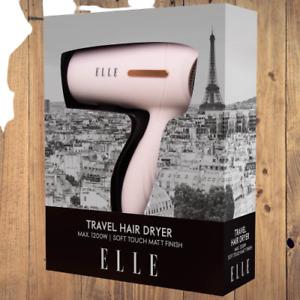 Travel Hairdryer Elle Baby Pink