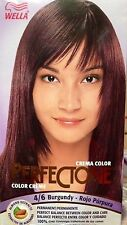 Wella Perfectone Color Creme Burgundy 4/6 (3 Boxes)