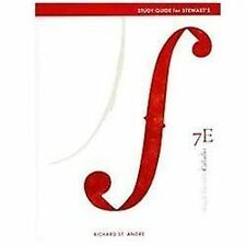 Study Guide for Stewart's Single Variable Calculus, 7th, Stewart, James, Very Go