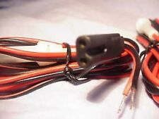 2 PIN CB FUSED POWER LEAD CABLE  Rotel Harrier Radiomobile Binatone Cybernet