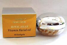 Royal Jelly Creamy Vitamin Facial Oil, 60 Softgels
