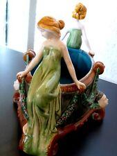 antike Jugendstil Sammler Keramik Blumenschale um 1900
