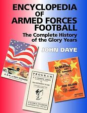 ENCYCLOPEDIA of ARMED FORCES FOOTBALL Hardcover Book NEW  Free Shipping