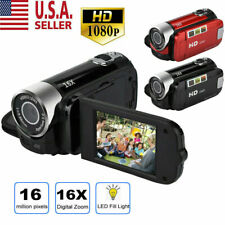 HD 1080P Camcorder Digital Video Camera TFT LCD 16MP 16x Zoom DV AV