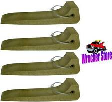 Qty. 4 - TIRE SKATES for TOW TRUCK, WRECKER, ROLLBACK, CAR CARRIER, HAULER