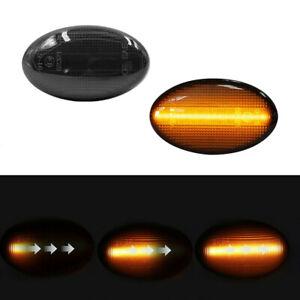 2 Pcs Dynamic LED Side Marker Signal Light For Subaru Impreza Forester 2008-2019