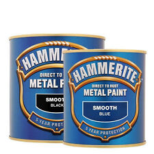 Hammerite Smooth Metal Paint Direct to Metal Paint 250ml 750ml