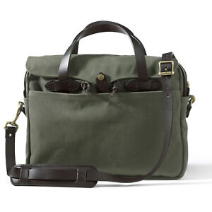Filson Rugged Twill Original Briefcase 70256 Otter Green 11070256