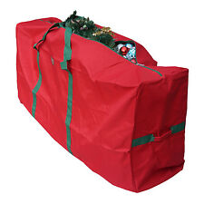 "Christmas Tree Storage Bag Fit upto 9 Foot Artificial Tree, Red 65"" x 30"" x 15"""