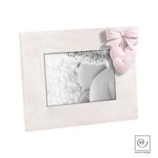 Mascagni Portafoto In Legno A Cuore A648 - 13x18, Rosa