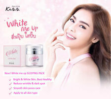White Me Up Sleeping Pack Malissa Kiss 15 ml Face Whitening Skin Collagen Cream