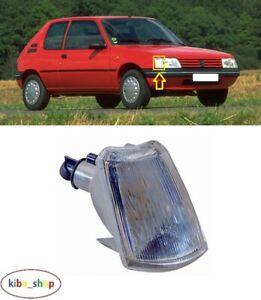 Pour Peugeot 205 1983 - 1997 Neuf Argent Avant Clignotant Droit O/S Conducteur