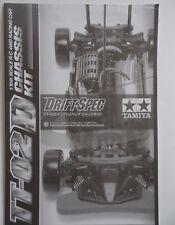 New Tamiya 'TT-02 D Drift' Chassis Instructions/Build Manual 11053769