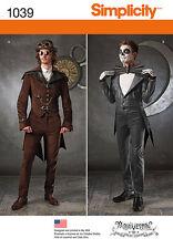 Patron De Couture Steampunk Blacknight-hommes; Gr. 48-54