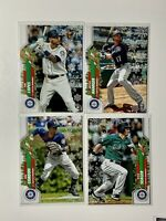 2020 Topps Holiday Metallic Snowflake Kyle Seager Mitch Haniger Seattle Mariners