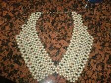 Pearl Glass Collar Costume Necklaces & Pendants