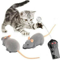 Wireless Remote Control RC Electronic Rat Mouse Mice Toy For Cat Puppy Gift JPO9