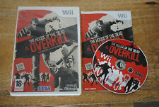 Jeu THE HOUSE OF THE DEAD OVERKILL pour Nintendo Wii PAL (CD OK) VF
