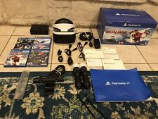 Sony Playstation VR PSVR Bundle Games Headset + Camera + Controllers PS4/PS5