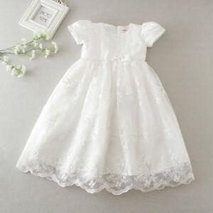 Newborn Baby Girls Off White/Red Christening/BirthdayTutu Party Princess Dress