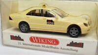 Wiking 1:87 Mercedes Benz 500 S Klasse OVP 149 14 Taxi . Modellbahn 2003 München