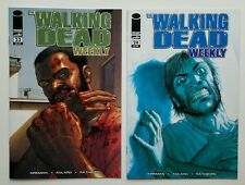 THE WALKING DEAD WEEKLY 23 - 26 & 28 - 33 Bagged and Boarded 10 Comic Lot