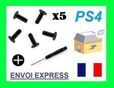 Vis noir X 5 cruciforme pour manette ps4 ps3 neuf  et Tournevis crusiforme