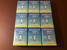 100 One Touch Ultra Blue Retail Test Strips 04/30/2021- (1 Box) Mint Condition !
