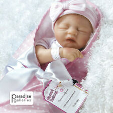 """Paradise Galleries Realistic Baby Doll - FlexTouch Silicone Vinyl 17.5"""" Newborn"""